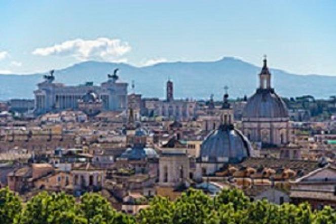 Rome historic center