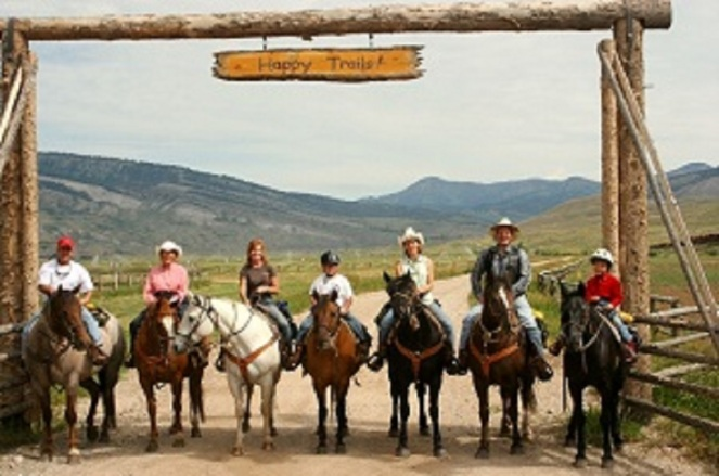 Wyoming dude ranch