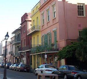 Houses in New Orleans