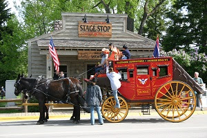 Jackson Wyoming Stage Coach