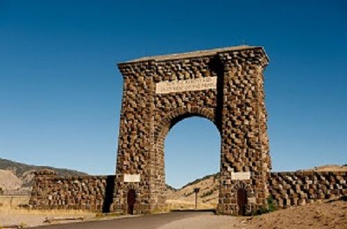 North Entrance to Yellowstone Park
