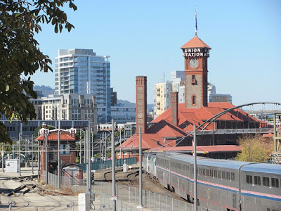 Portland Union Station + Empire Builder