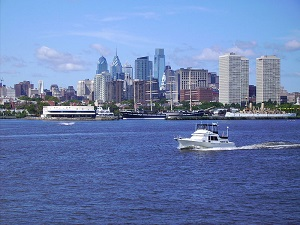 Delaware River in Philadelphia