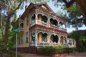 Gingerbread House in Savannah