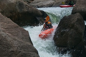 South Platte River kayaking Eleven Mile Canyon