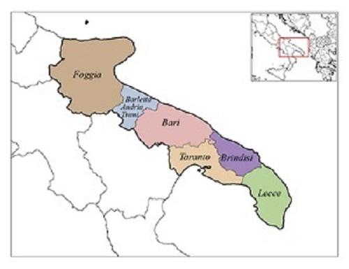 Apulia Provinces