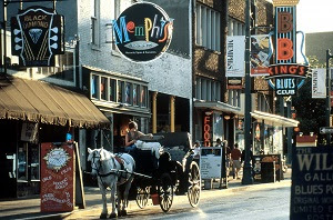 beale street in the daytime