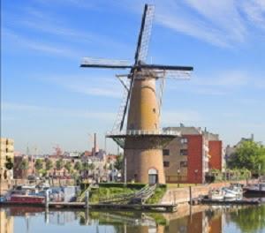 Tour Delfshaven molen