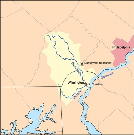 Christina brandywine rivers