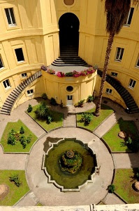 Federico II University Cloister