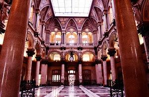 Naples Stock Exchange Buiding