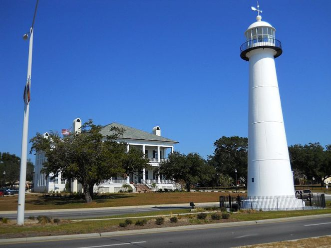 Biloxi Light House and Visitors Center