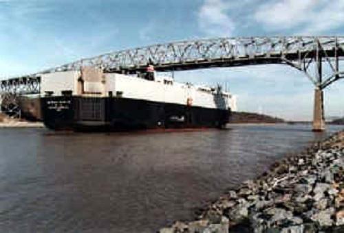 eastbound ship