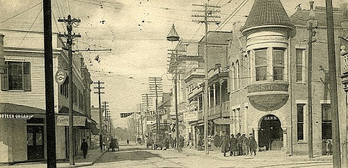 Howard Street Biloxi Mississippi 1906