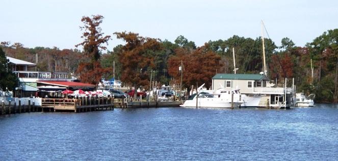 Madisonville Louisiana waterfront