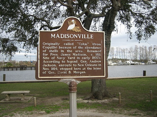 Madisonville Monument Sign Tchefuncte