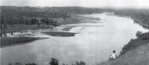 Wing dams Mississippi 1891