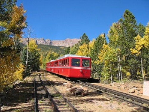 cog railway colorado springs