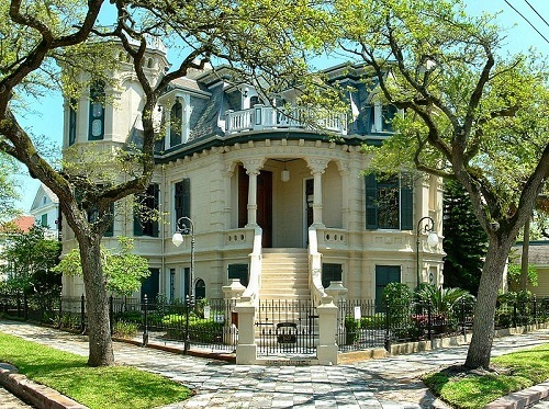 Galveston Victorian Homes