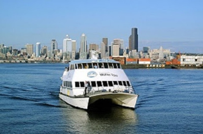 King County Water Taxi Downtown Seattle