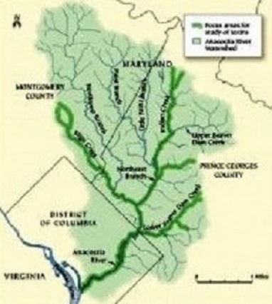 anacostia river watershed