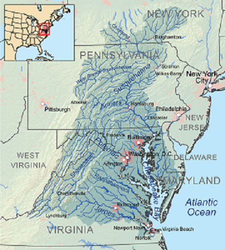 Chesapeake watershed