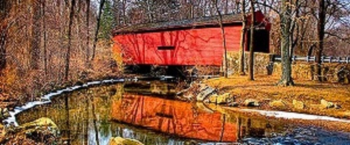 covered bridges in Pennsylvania