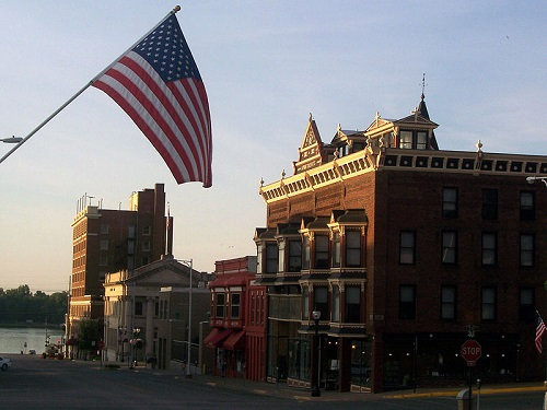 Downtown Muscatine