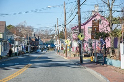 Downtown Saint Michaels, Maryland