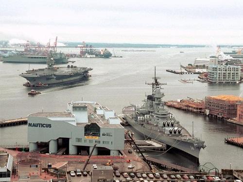 Nauticus and USS Wisconsin Museum