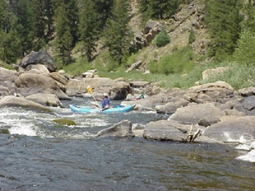 North Platte River Northgate Canyon Canoers