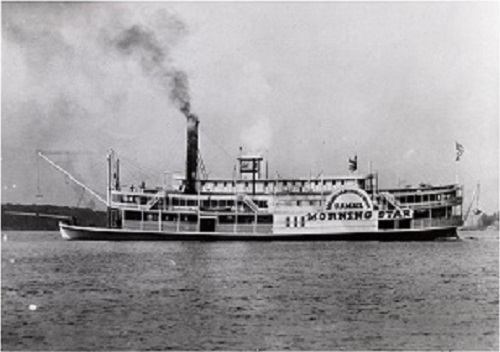 Steamboat Morning Star 1858