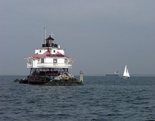 Thomas Point Lighthouse Chesapeake Bay