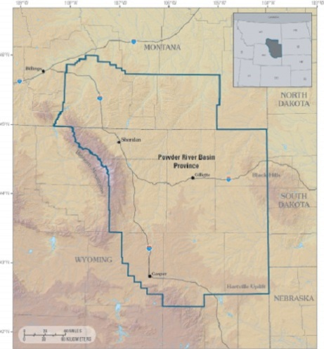 Powder River Map