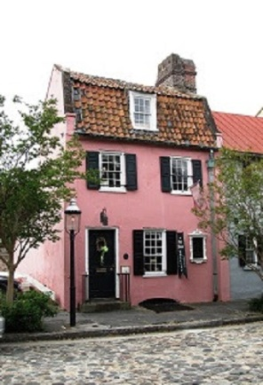 Pink house charleston
