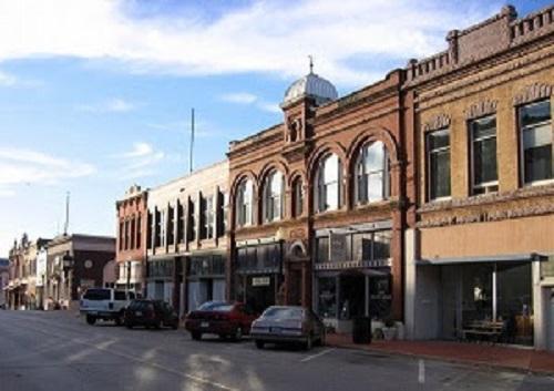 Downtown guthrie oklahoma
