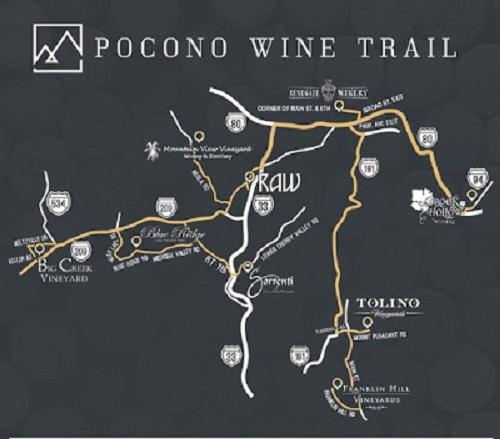 pocon wine trail