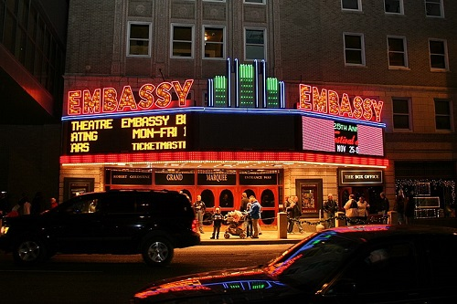 embassy theatre and indiana hotel