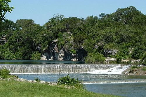 Blue Hole park in Georgetown Texas (view 4)