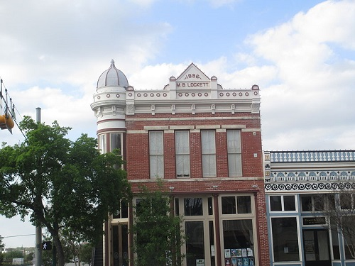 m.b. lockett building, georgetown, tx