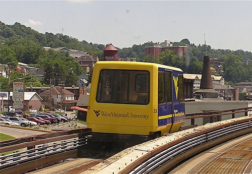 morgantown personal rapid transit