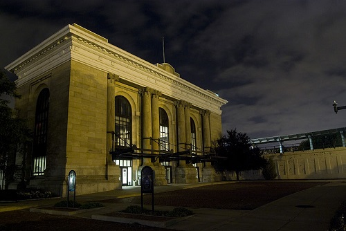 wichita former train station